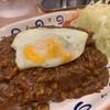 バーグ - 料理写真:この日のおすすめカレー(キーマカレー焼き付き)