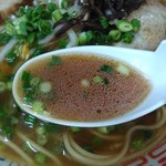 みとラーメン - ラーメンスープ