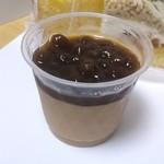 みんなのケーキ屋さん チョコット - 黒蜜がけタピオカミルクティープリン