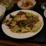 中華風居酒屋 桃花 - 回鍋肉。絶品!