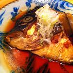 月うさぎ - 真鯛兜煮付け