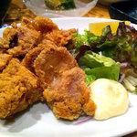 月うさぎ - 鶏の唐揚げ