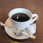 キッチンしま - 食事の後は海鮮丼定食にセットになってる温かいコーヒーをいただいてもう一休み・・