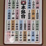 築地 布恒更科 - 木鉢会 産湯が木鉢という江戸名店二世三世の会です。超有名老舗揃い