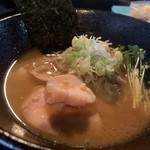 麺s慶 - 料理写真:どっ鶏白湯