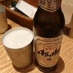 109696357 - ビールはドライの小瓶・・