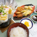 ちらん亭 - 料理写真:ちらん亭セット