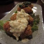 煮込み屋ぐっつ - 牡蠣の2色フライ1