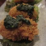 煮込み屋ぐっつ - 牡蠣の2色フライ2