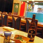寿々家 - 瓶のビールは全社揃っています。<2011_12>
