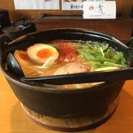 109701824 - 鶏そば(790円) + 味玉(100円)