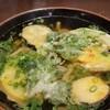 ひなたうどん - 料理写真:野菜天うどん。