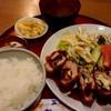 うえむら - 料理写真:しそかつ定食(1000円)