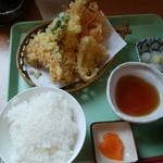 だんらん食堂 - 料理写真:天ぷら定食
