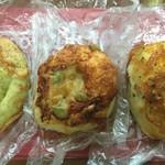 NOBU Cafe - チーズクッペ、トマグリフォカッチャ、バジルチーズ