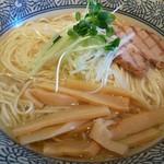 麺屋 ふぅふぅ亭 - 【芳醇 鶏そば 塩¥780(税込)】 大盛(1.35倍)にしてみました!!! グリルチャーシューが美味しかったです♪