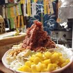 居酒屋 ゆうちゃん - コンビーフポテトサラダ600円のコンビーフ多め