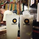 居酒屋 ゆうちゃん - ゆずハイ500円にミルクハイ濃いめ550円