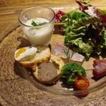 ラッテリア ベベ  カマクラ - 前菜7種盛り合わせ