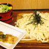 名代 箱根そば - 料理写真:ざるうどん ちくわ天
