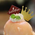 Sweet of Oregon - 白桃のキングパフェ