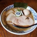 RAMEN W ~庄の×ど・みそ~ - 豚骨魚介全部のせ