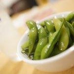 呑み処 ちょい吉 - 塩漬け枝豆