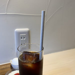 喫茶モーニング - アイスコーヒー ¥500-