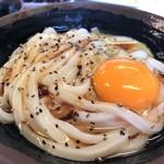 109730423 - 釜バター 小 出汁醤油をかけて完成(^^♪