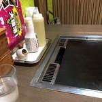 道とん堀 - テーブル