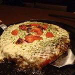 Teppanyamansai - イタリアンのお好み焼き ~バジルの香り 1200円