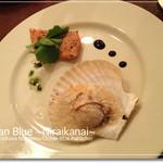 オレンジダイナー - 帆立のガレガとサーモンのミキュイ(2011クリスマスディナー)