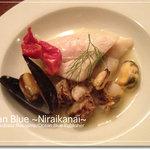 オレンジダイナー - 魚介のマリネ シャルドネソース(2011クリスマスディナー)