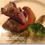 オレンジダイナー - イベリコ豚ロースのグリエ ビガラードソース(2011クリスマスディナー)