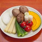 選べる焼き野菜3種盛り合せ