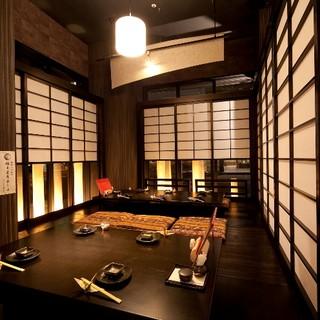 【大小個室あり】接待やお子様連れのお食事に人気の個室