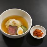 前沢牛オガタ 味心 - 『ミニ冷麺』