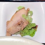 広東炒麺 南国酒家 - セットの小鉢3種