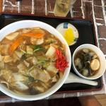 味の店 こだま食堂 - 中華丼(650円)