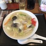 味の店 こだま食堂 - あんかけ焼きそばハーフ(350円)
