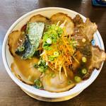 かめ福 - 料理写真:醤油ネギチャーシュー