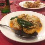 109744062 - 揚げ豆腐の四川風煮(リーズナブル宴会コース)