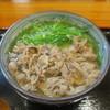 うどん処 重己 - 料理写真:肉うどん