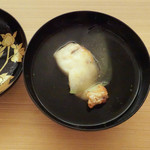 日本料理 晴山 - 真鯛、冬瓜のお椀