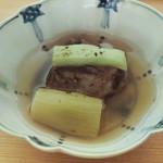 日本料理 晴山 - 牛テールスープ