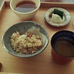 日本料理 晴山 - 蛸めし