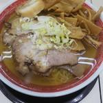 泉一 遠藤 - 料理写真:しお味チャーシューメン 大+メンマ