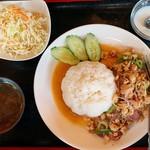 タイレストラン ドイカム K&G - ラープガイ¥750
