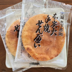 本炭火手焼きせんべい 川村商店 - 料理写真: