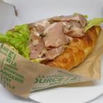 パン工房 メナージュ - 料理写真:クロワッサンサンド・ポークパストラミ